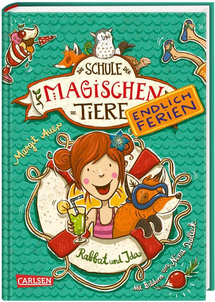 Schule der magischen Tiere - Endlich Ferien 1. Rabbat und Ida als Buch von Margit Auer