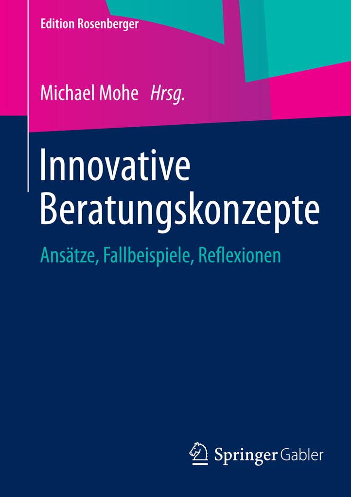Innovative Beratungskonzepte als eBook von