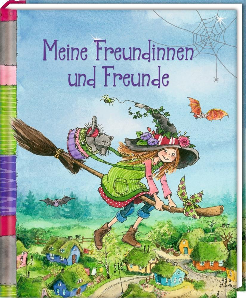 Freundebuch - Meine Freundinnen und Freunde (Flora Flitzebesen) als Buch von