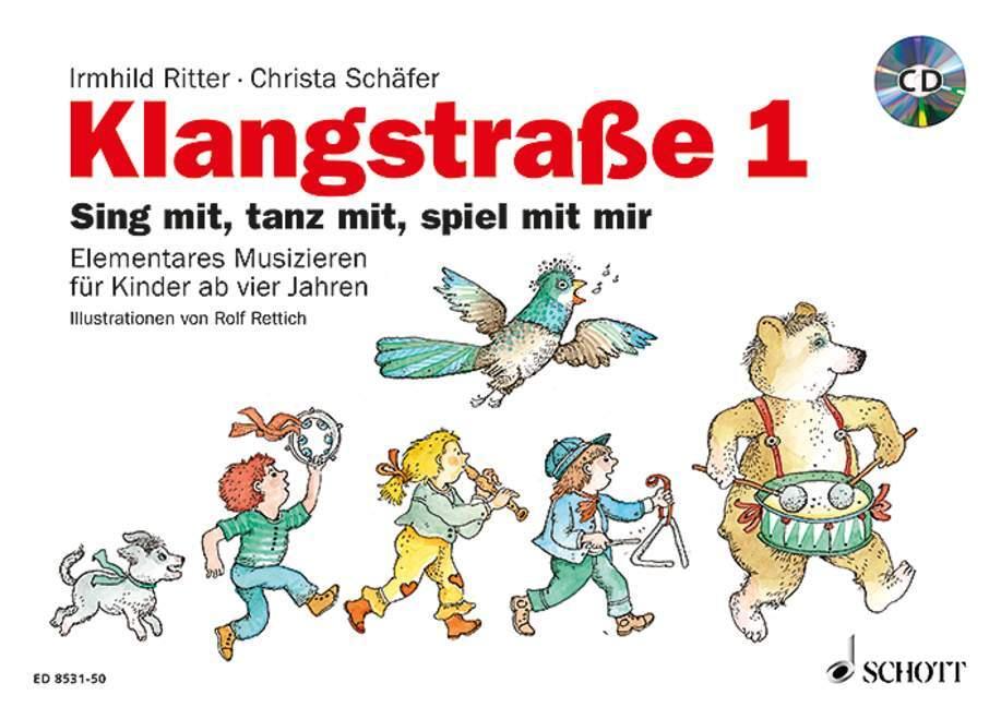 Klangstraße 1 - Kinderheft als Buch von Christa Schäfer, Irmhild Ritter