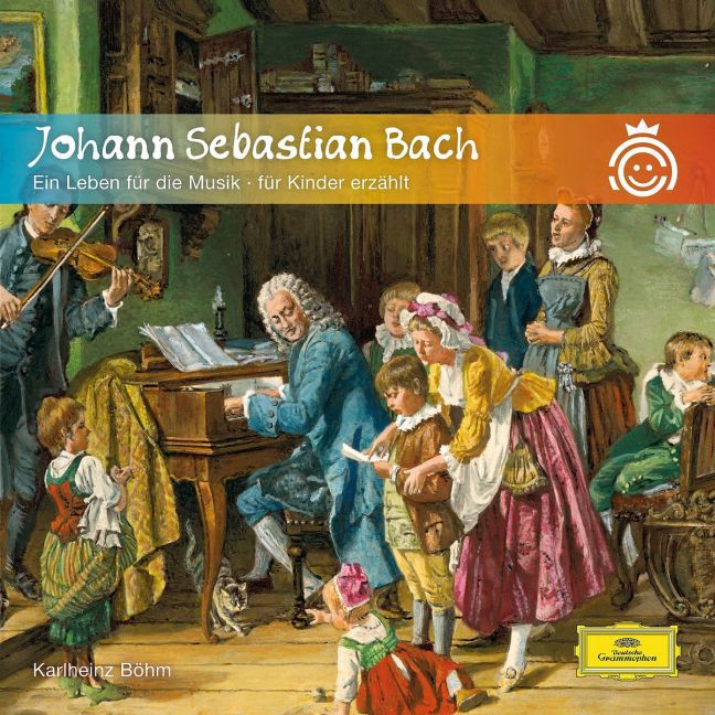 Johann Sebastian Bach - Ein Leben für die Musik als Hörbuch CD von Karlheinz Böhm