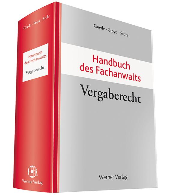 Handbuch des Fachanwalts Vergaberecht als Buch ...