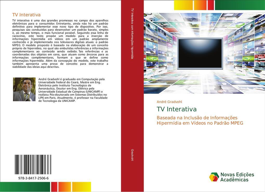 TV Interativa als Buch von André Gradvohl