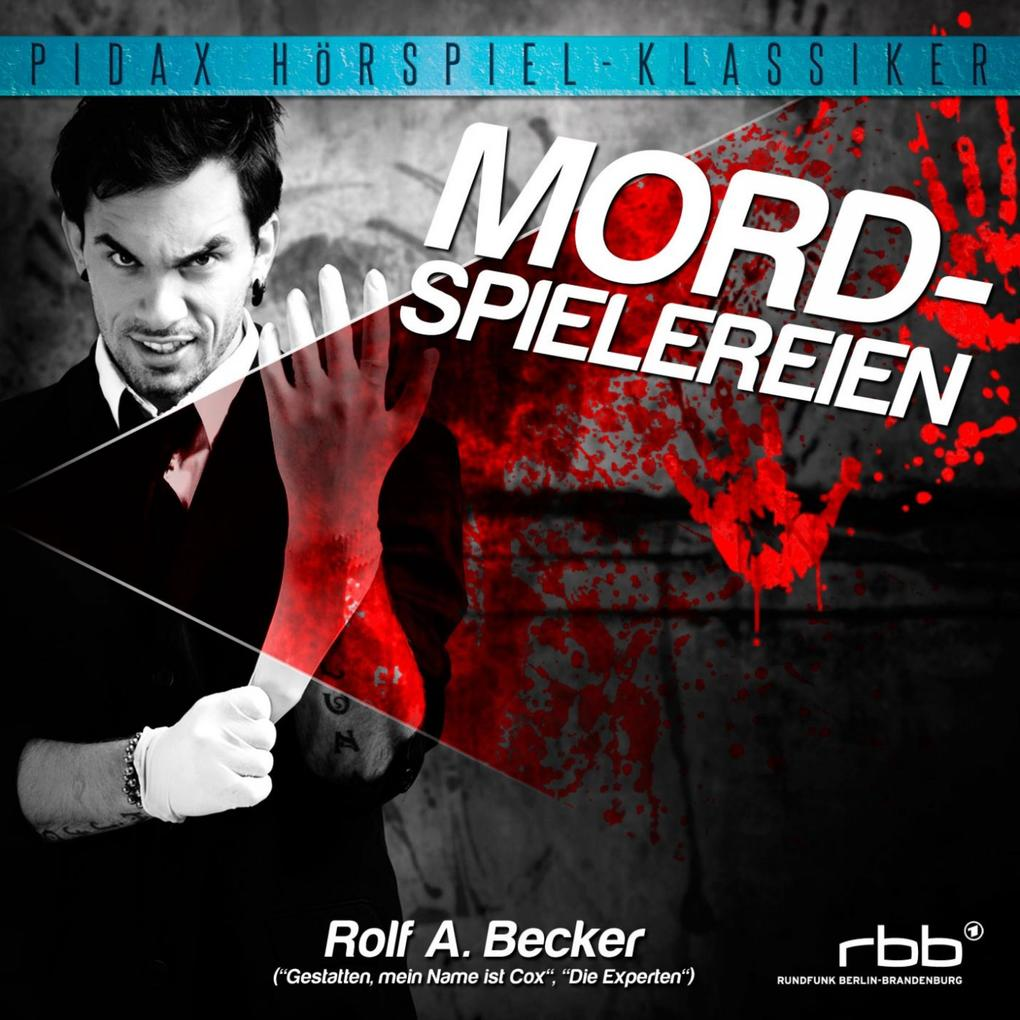 Mordspielereien als Hörbuch Download - MP3 von Rolf Becker