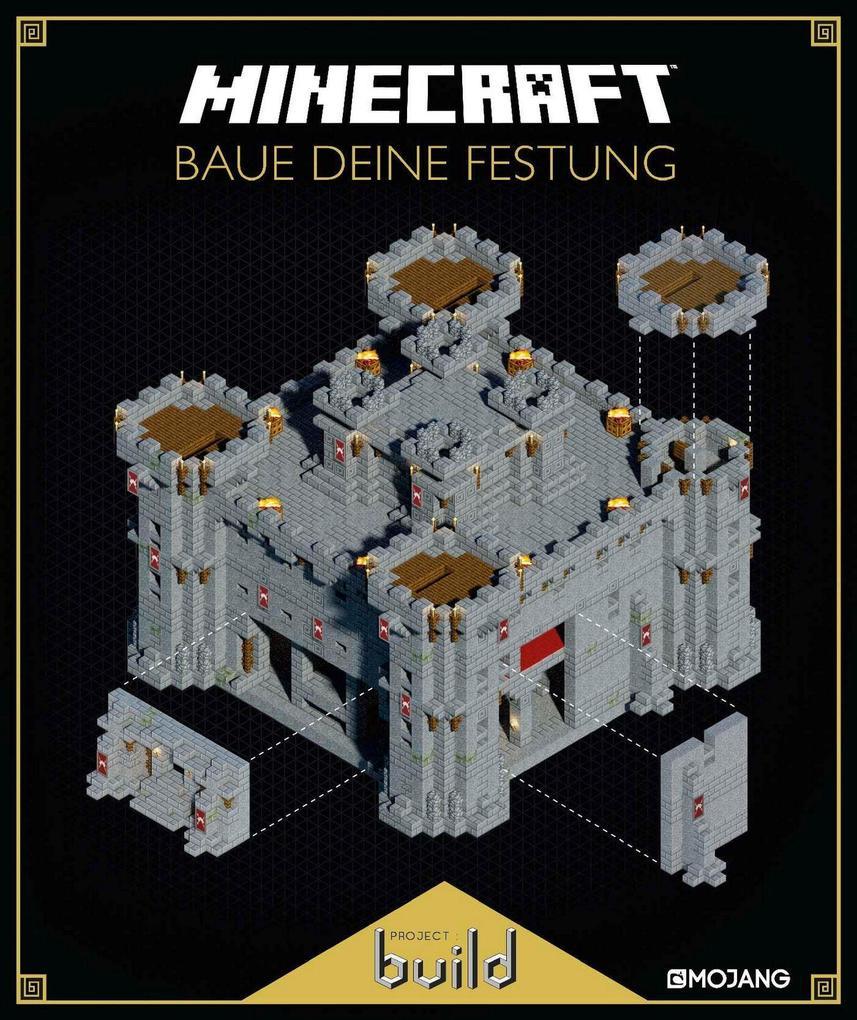 Minecraft - Baue deine Festung als Buch von
