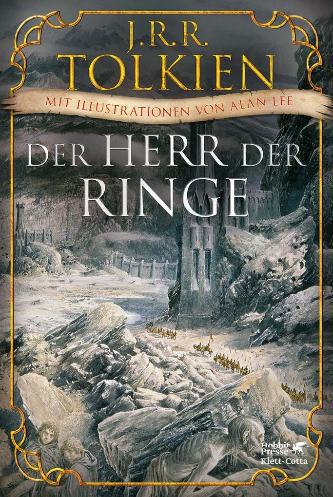Der Herr der Ringe als Buch von J. R. R. Tolkien