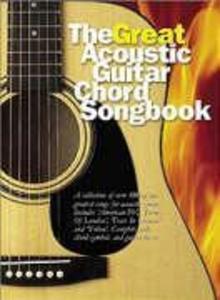 The Great Acoustic Guitar Chord Songbook Lyrics & Chords Book als Buch von
