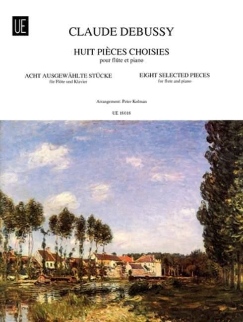 8 Ausgewählte Stücke als Buch von Claude Debussy