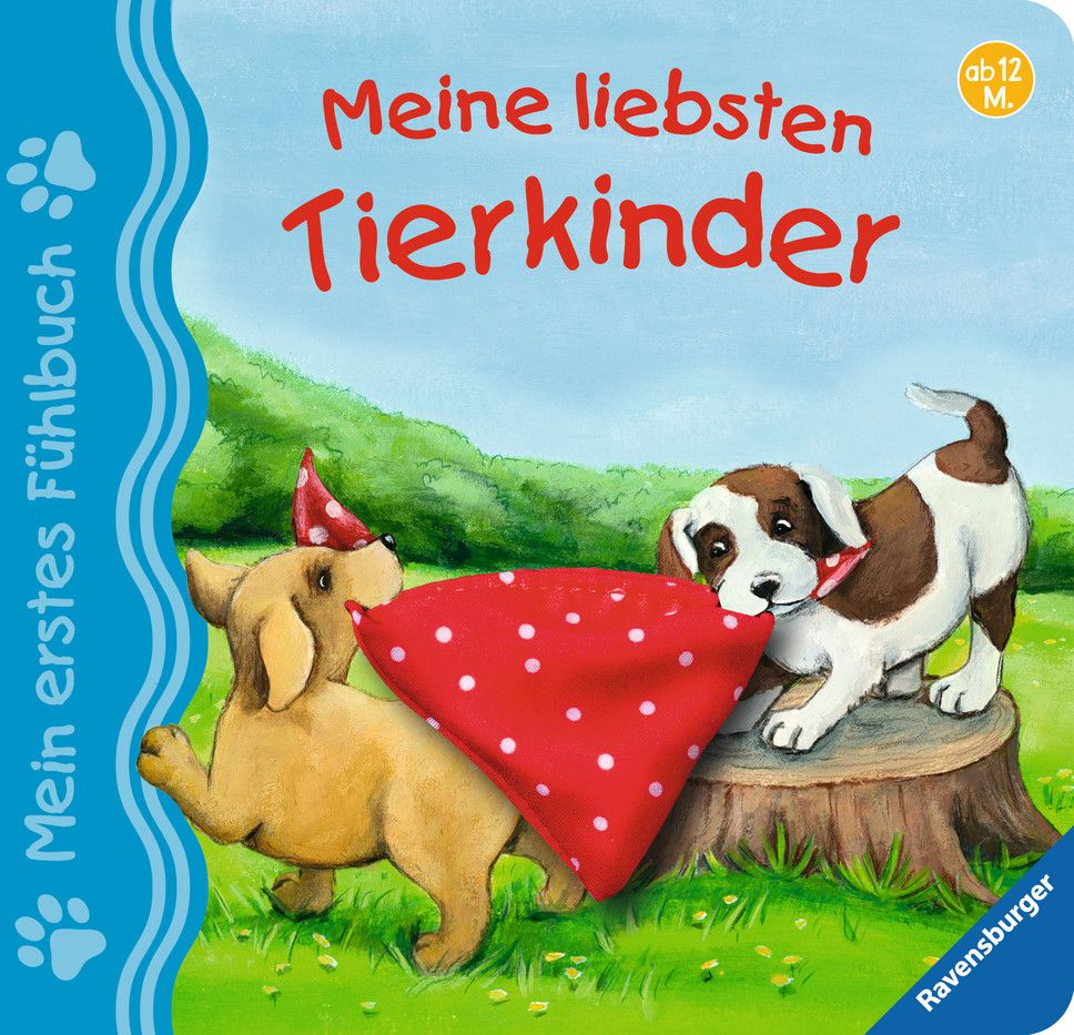 Mein erstes Fühlbuch: Meine liebsten Tierkinder als Buch von Sandra Grimm