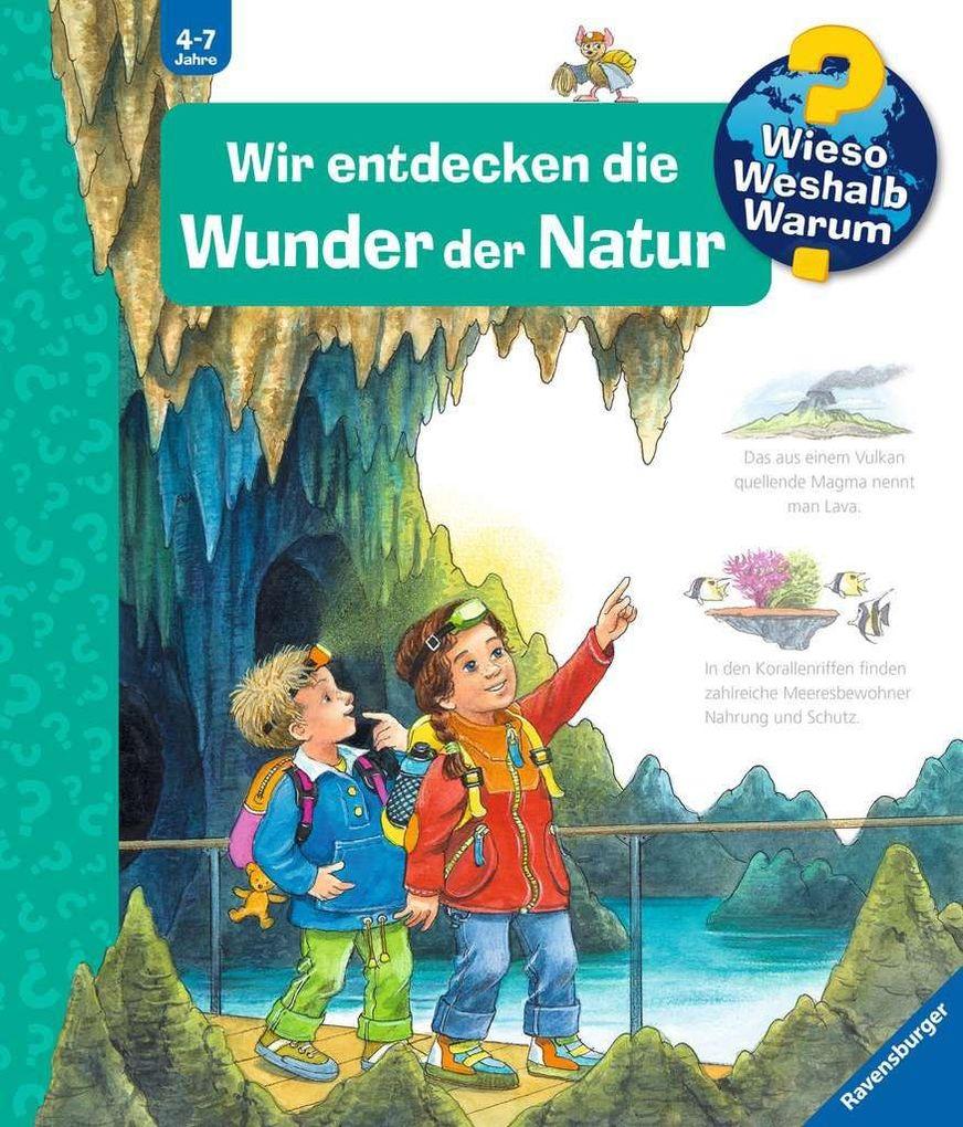 Wir entdecken die Wunder der Natur als Buch von Susanne Gernhäuser