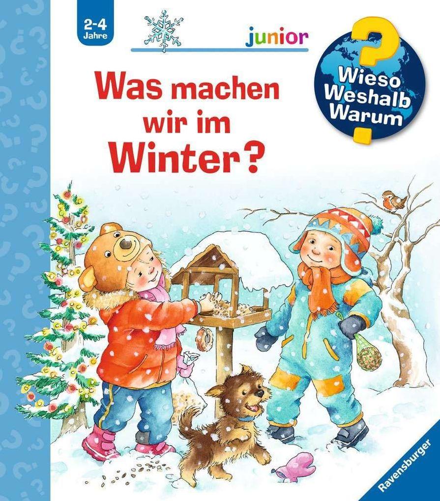 Was machen wir im Winter? als Buch von Andrea Erne
