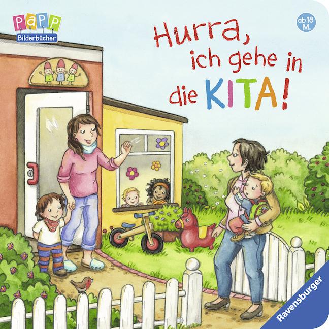 Hurra, ich gehe in die KITA! als Buch von Sabine Cuno