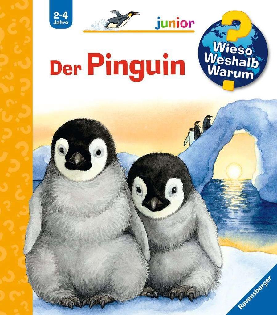 Der Pinguin als Buch von Daniela Prusse