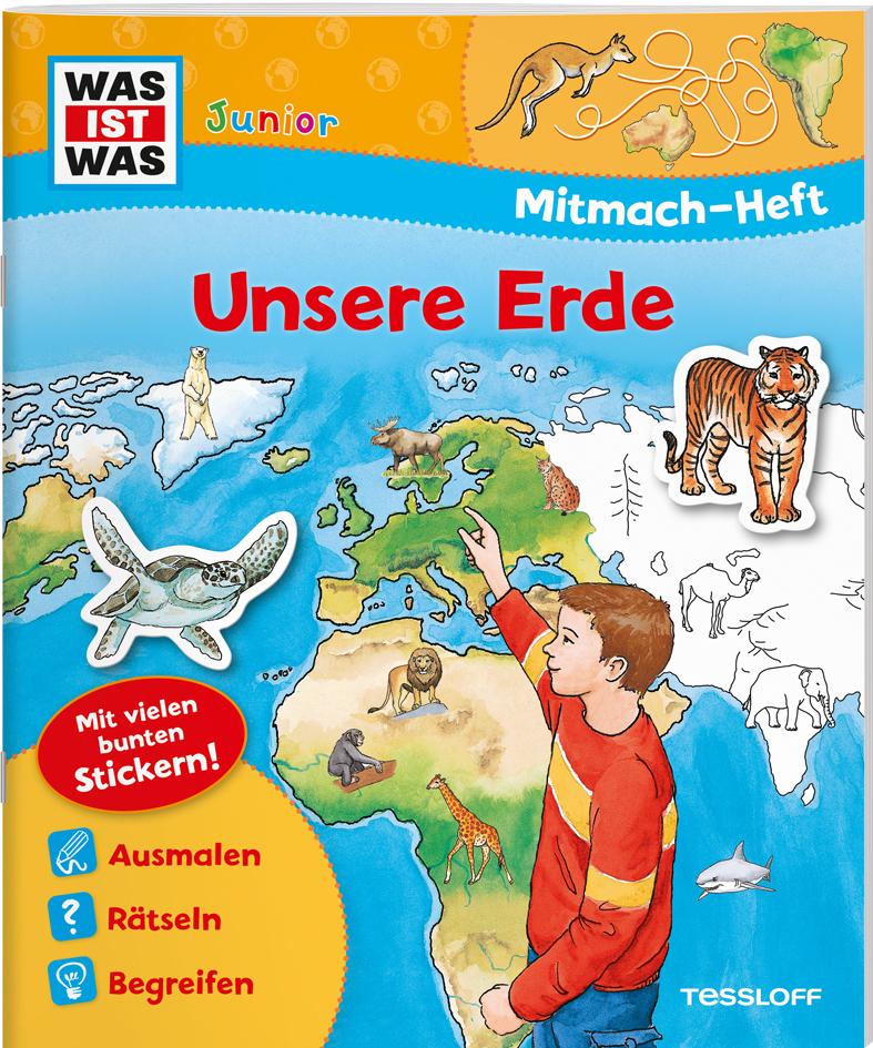 Mitmach-Heft Unsere Erde als Buch von Monika Ehrenreich