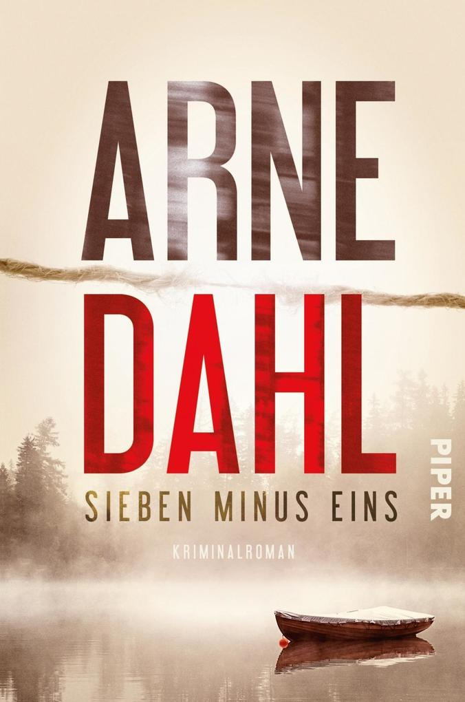 Sieben minus eins als Buch von Arne Dahl