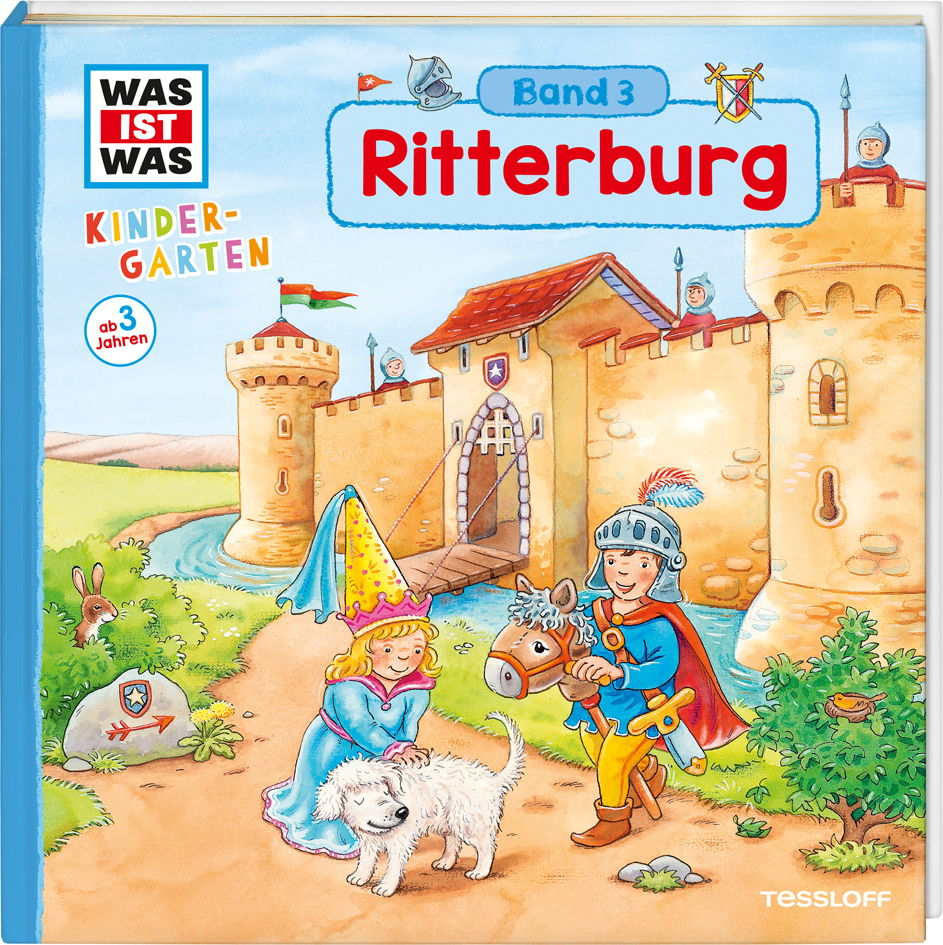 WAS IST WAS Kindergarten: Ritterburg als Buch von Hans-Günther Döring