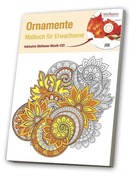 Malbuch für Erwachsene 4, Ornamente als Buch von