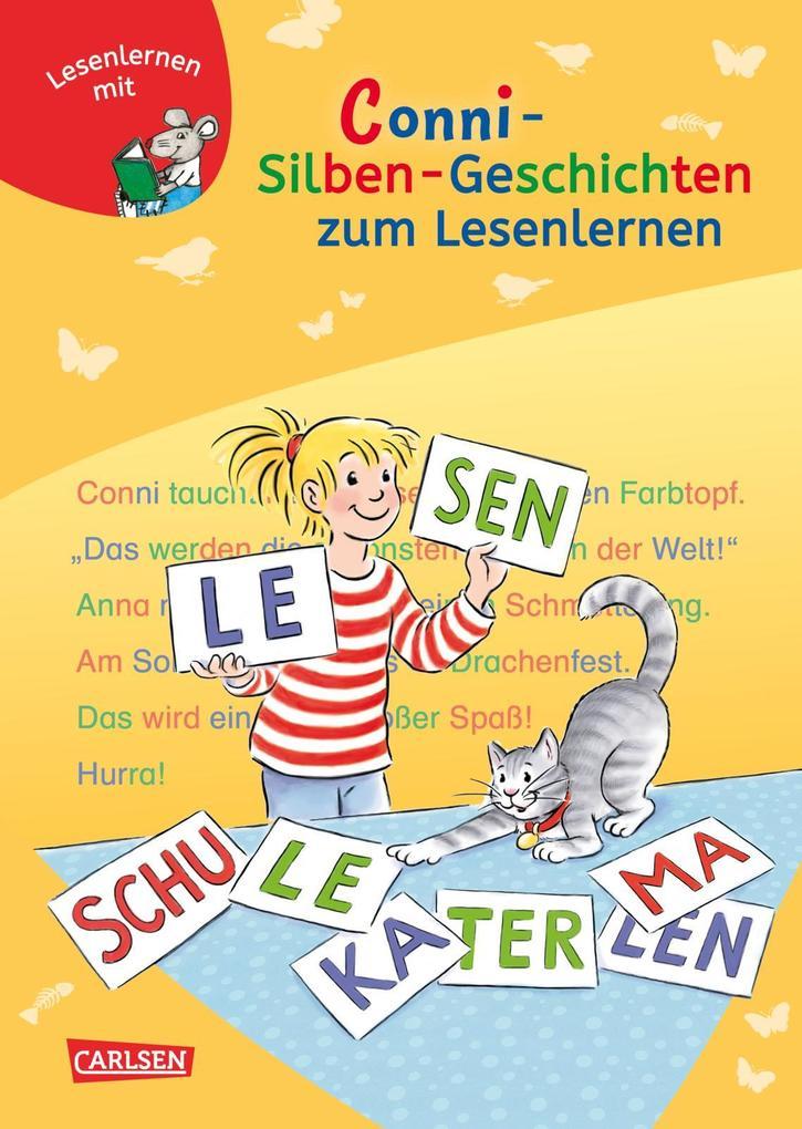 LESEMAUS zum Lesenlernen Sammelbände: Conni Silben-Geschichten zum Lesenlernen als Buch von Julia Boehme