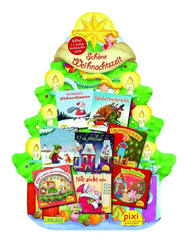 Pixis Riesen-Weihnachtsbaum als Buch von Henning Löhlein, Simone Nettingsmeier