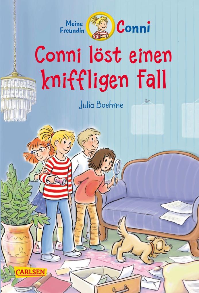 Conni löst einen kniffligen Fall als Buch von Julia Boehme