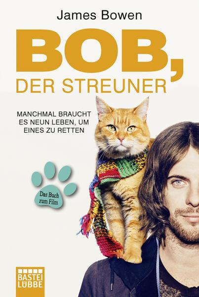 Bob, der Streuner als Taschenbuch von James Bowen