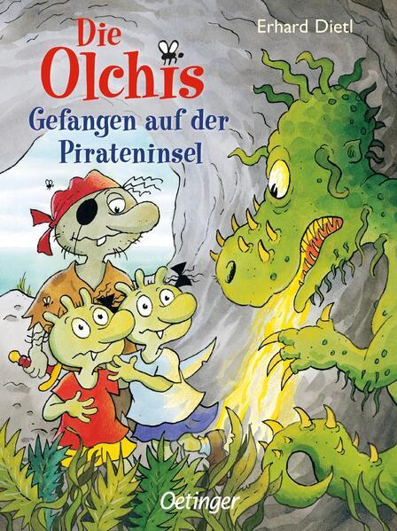 Die Olchis. Gefangen auf der Pirateninsel als Buch von Erhard Dietl