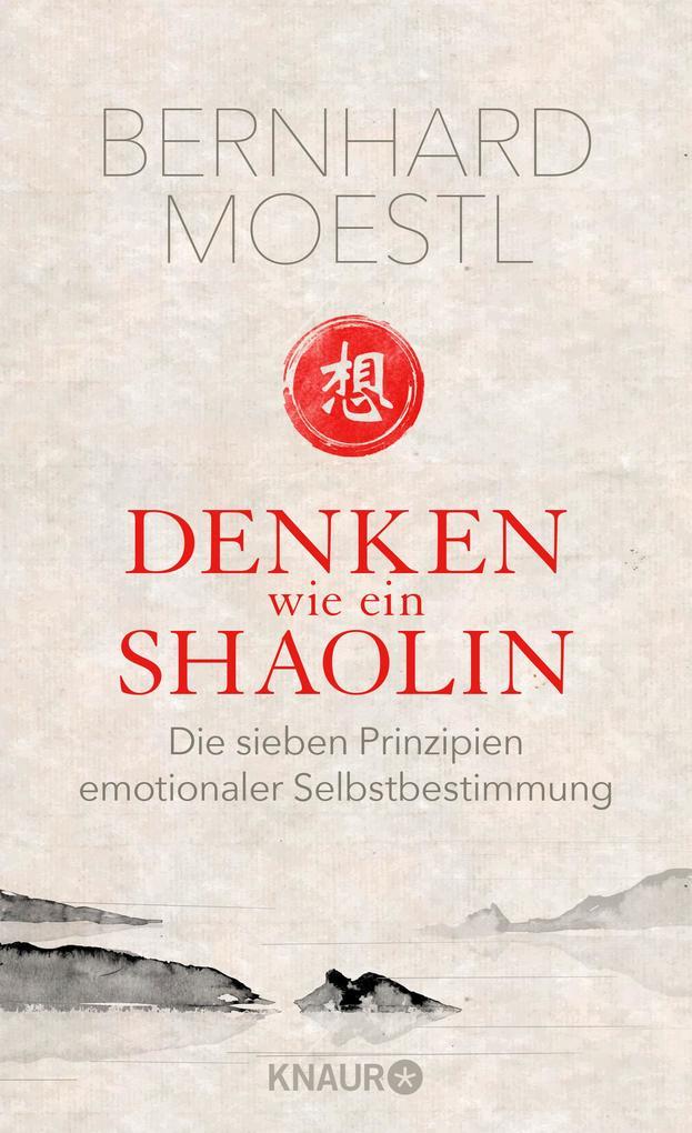 Denken wie ein Shaolin als Buch von Bernhard Moestl