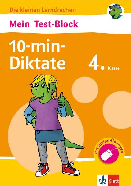 Mein Test-Block 10-min-Diktate 4. Klasse als Buch von