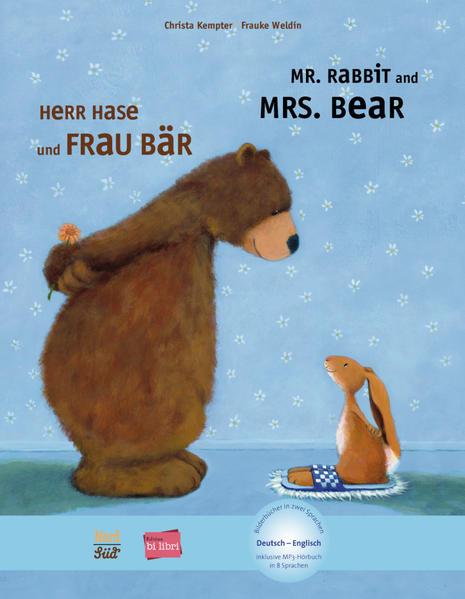 Herr Hase & Frau Bär. Kinderbuch Deutsch-Englisch als Buch von Christa Kempter