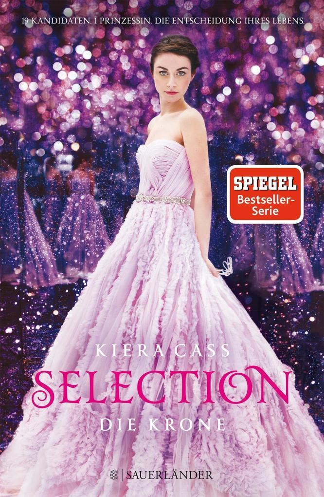 Selection 05. Die Krone als Buch von Kiera Cass