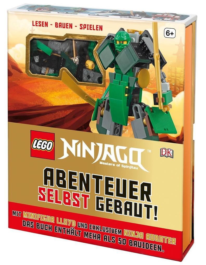 LEGO® NINJAGO® Abenteuer selbst gebaut! als Buch von