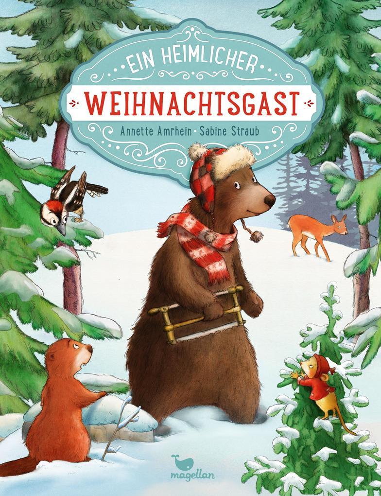 Ein heimlicher Weihnachtsgast als Buch von Annette Amrhein