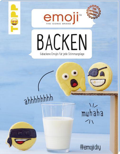 Emoji Backen als Buch von Anna-Lena Krell