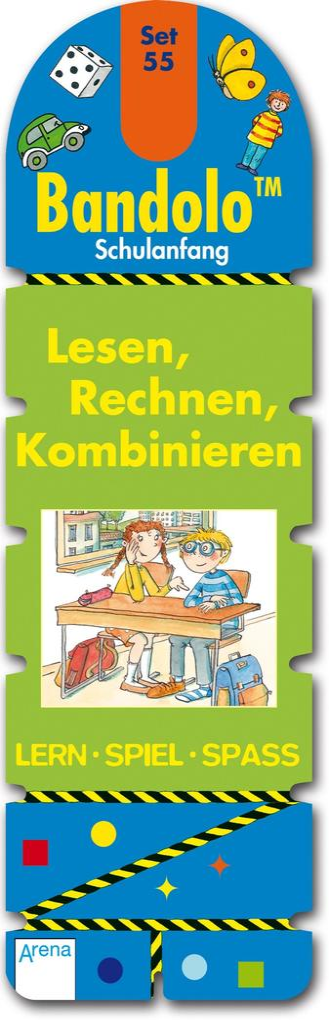 Bandolo Set 55. Lesen, Rechnen, Kominieren als Buch von Friederike Barnhusen
