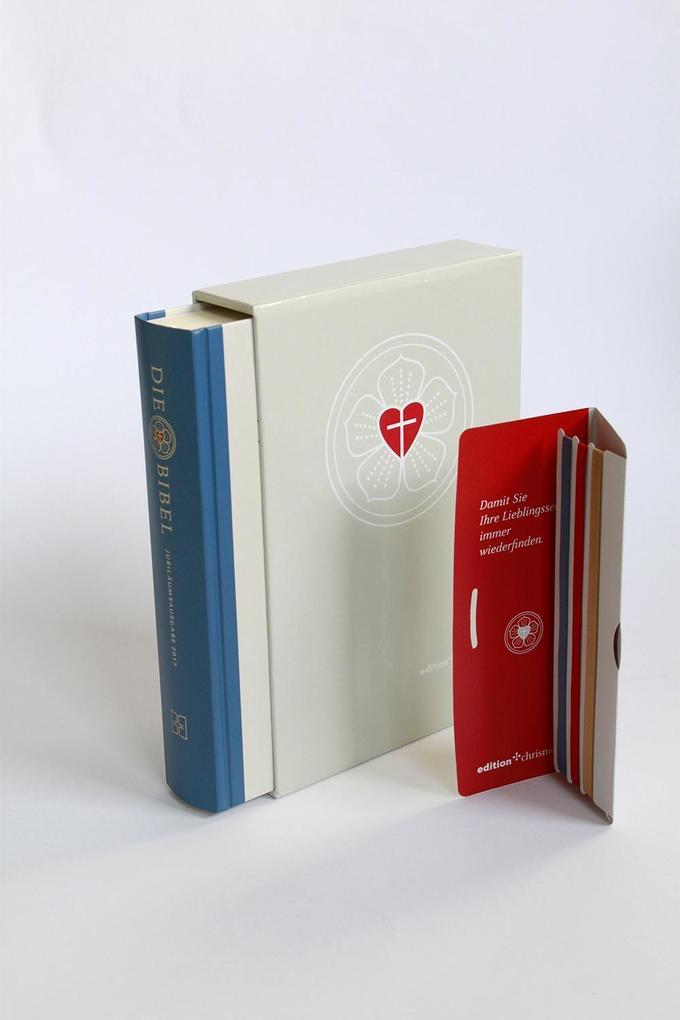 Die Bibel nach Martin Luthers Übersetzung als Buch von