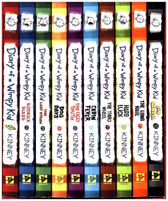 Diary of a Wimpy Kid Box of Books (1-10) als Taschenbuch von Jeff Kinney