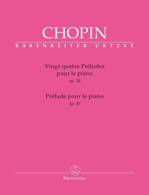 Vingt-quatre Préludes als Buch von Frédéric Chopin