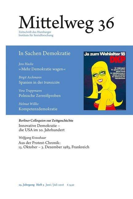 Mittelweg 36. Zeitschrift des Hamburger Instituts für Sozialforschung als Buch von Jens Hacke Birgit Aschmann Vera Trappmann Helmut Willke Ber...