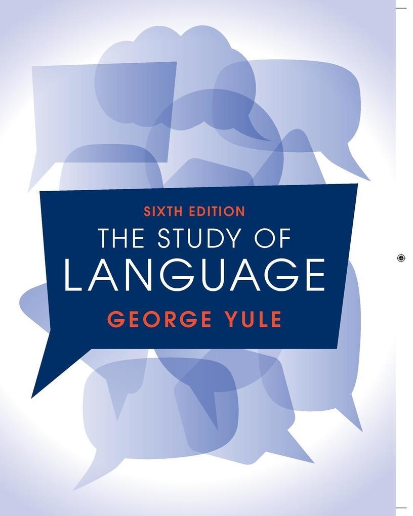 The Study of Language als Buch von George Yule