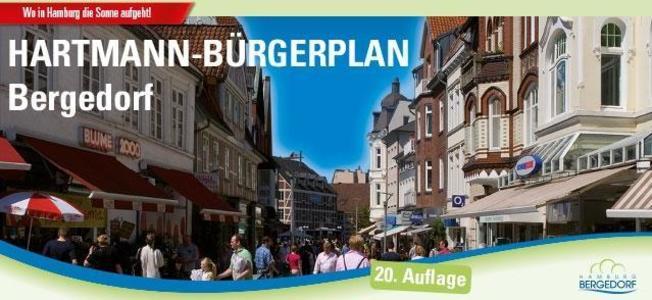 HARTMANN-PLAN Bergedorf 1:20.000 als Buch von