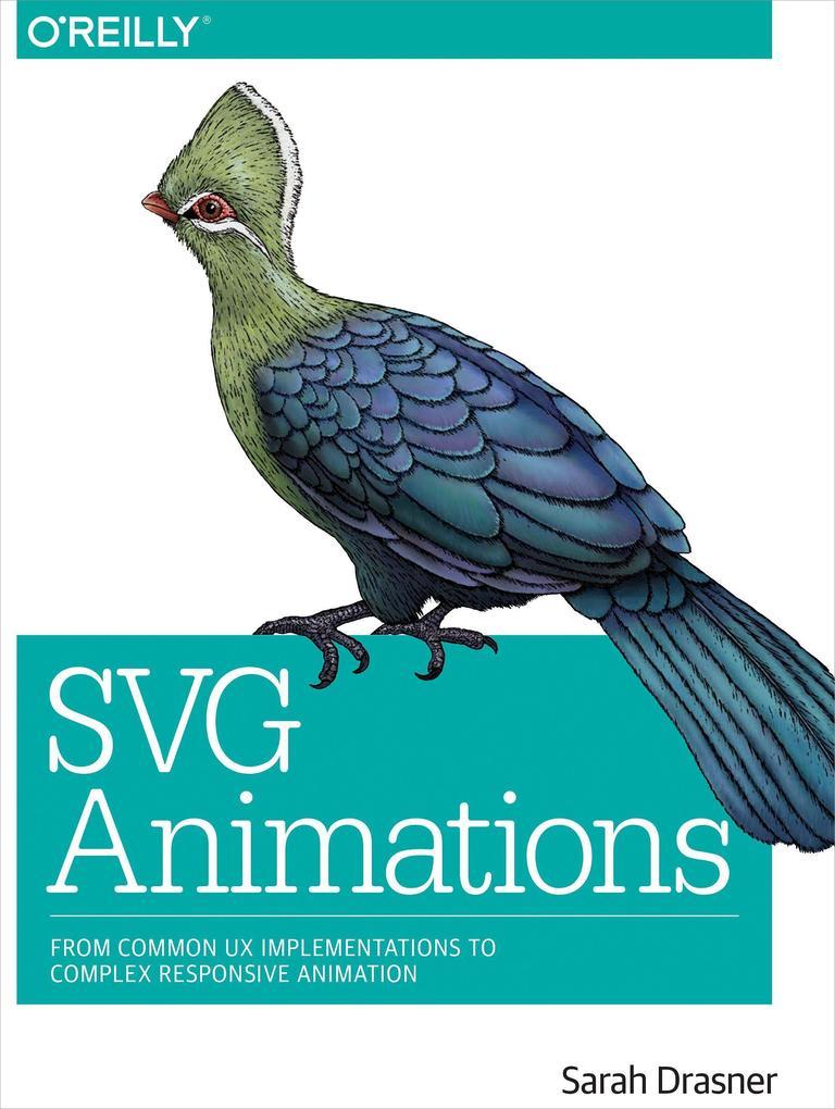 SVG Animations als Buch von Sarah Drasner