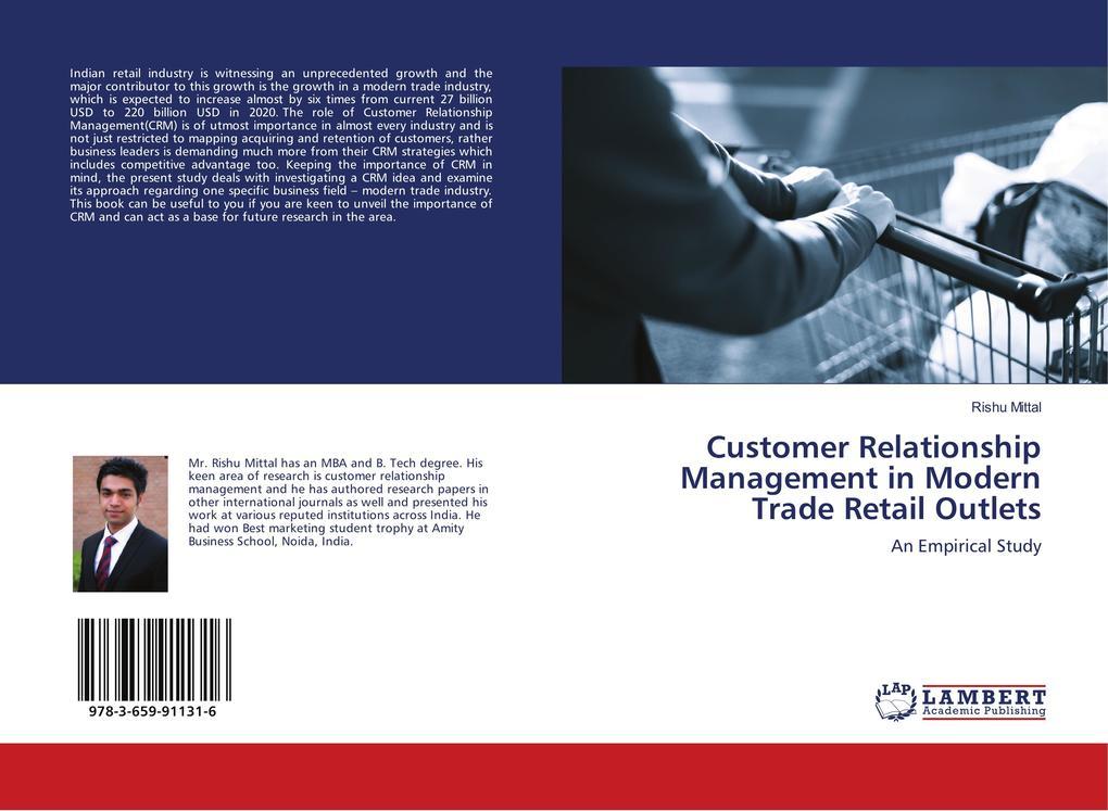 Customer Relationship Management in Modern Trade Retail Outlets als Buch von Rishu Mittal