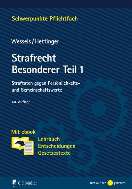 Strafrecht Besonderer Teil / 1 als Buch von Johannes Wessels, Michael Hettinger