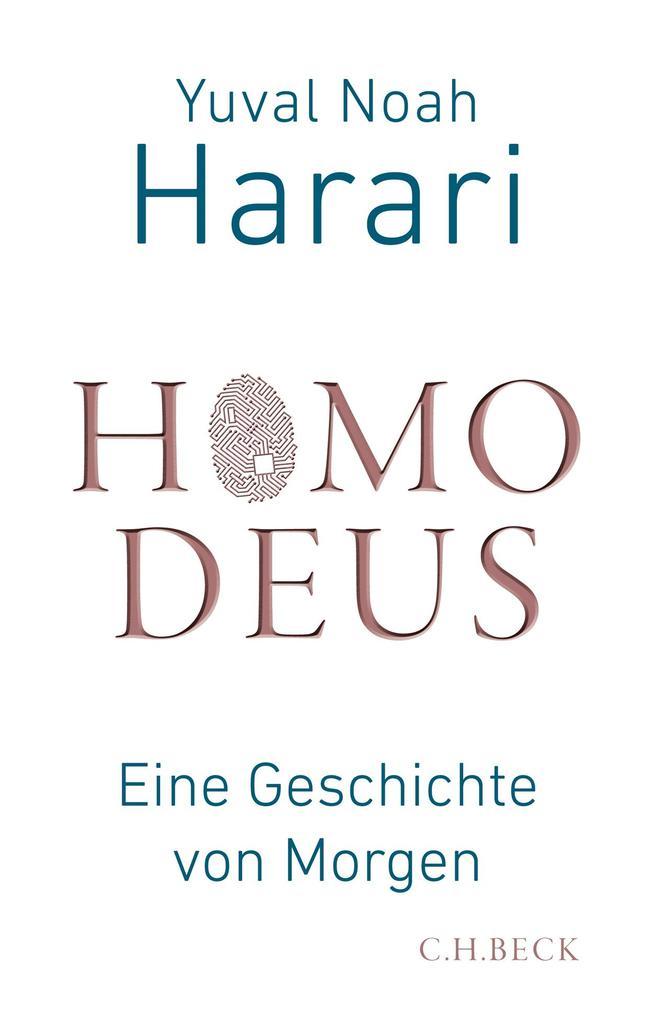 Homo Deus als Buch von Yuval Noah Harari
