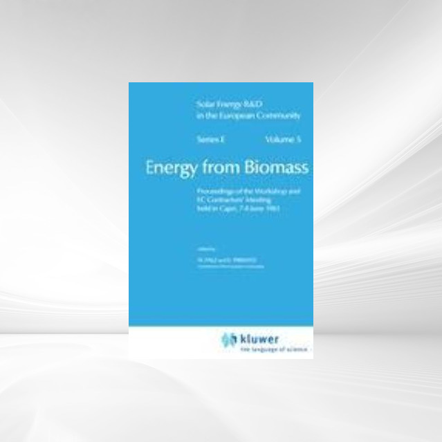 Energy from Biomass als Buch von