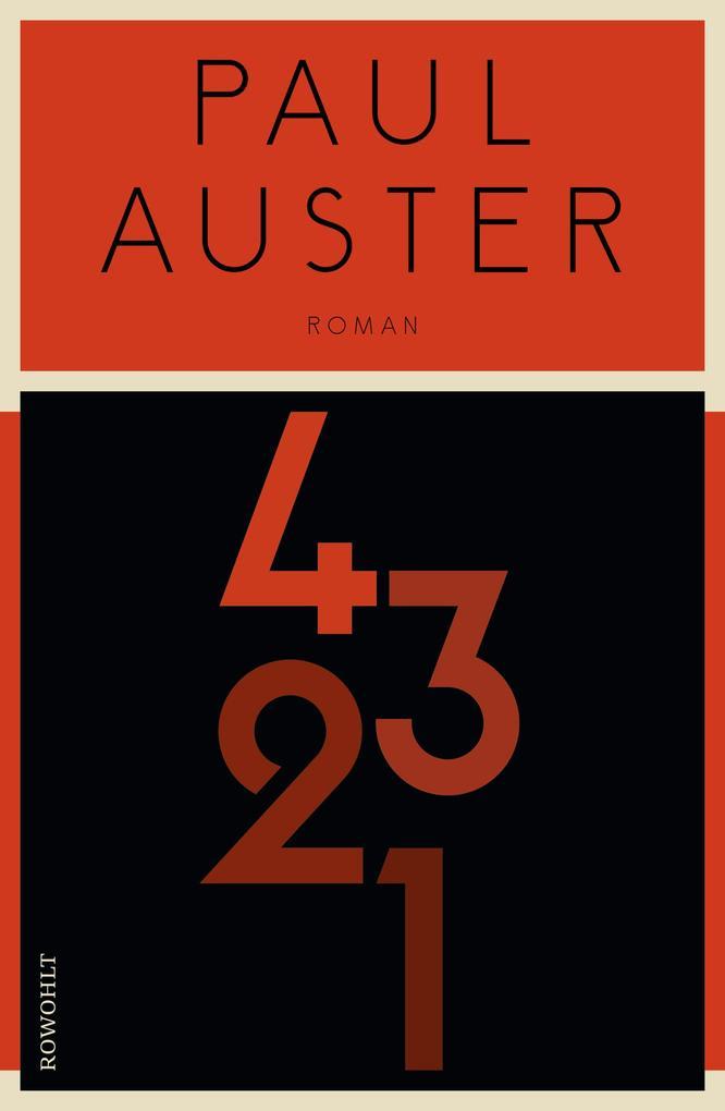 4 3 2 1 (4321) als Buch von Paul Auster