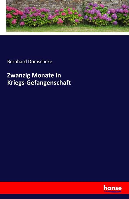 Zwanzig Monate in Kriegs-Gefangenschaft als Buch von Bernhard Domschcke