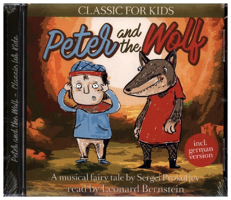 Peter and the Wolf als Hörbuch CD von Sergei Prokofjew