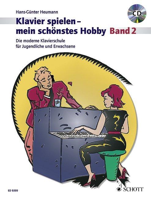 Klavierspielen - mein schönstes Hobby 2. Mit CD als Buch von Hans-Günter Heumann