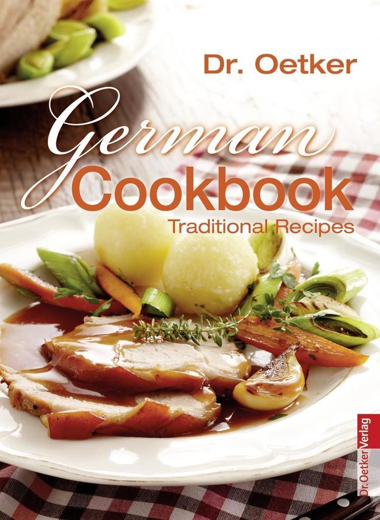 German Cookbook als Buch von Dr. Oetker